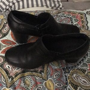 Clarks Mary Jane black shoes
